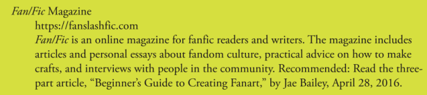 FAN:FIC Magazine - FANDOM