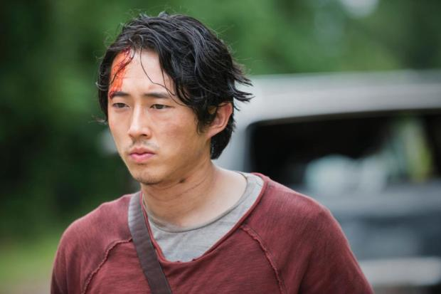 Glenn Rhee on The Walking Dead