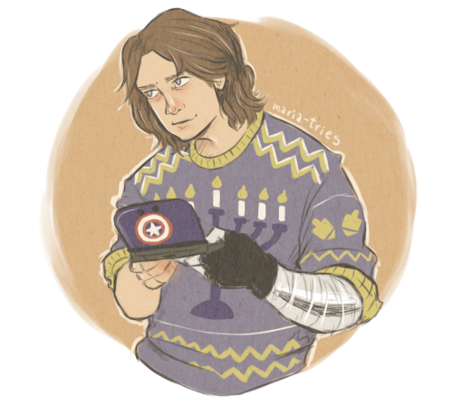 Bucky Barnes by maria-tries