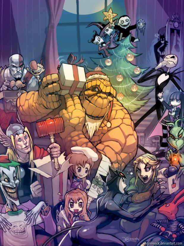 The Thing on Christmas. | © el-grimlock