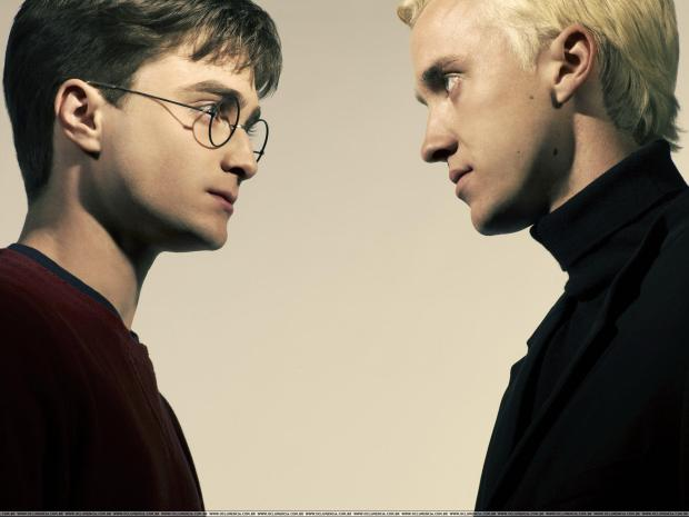 Danielle Radcliffe as Harry Potter and Tom Felton as Draco Malfoy | © Warner Bros. Pictures