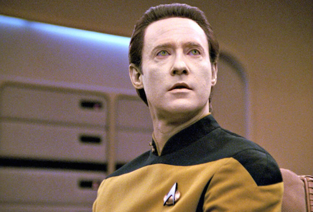 Commander Data from Star Trek The Next Generation